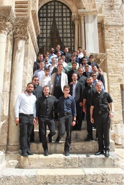Seminario Redmptoris Mater nel Santo Sepolcro